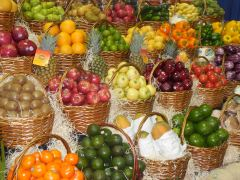 Fresh Fruit and Vegetable Volume Remains Steady