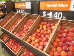 U.S. Stone Fruit Shipments; CA Melons; and South African Citrus Imports