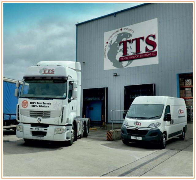 Telford Transport Benefit from Integrated Transport and Warehouse Solutions