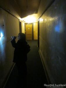 The Masonic Hotel hallway