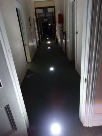 Lights and trigger objects - School investigation