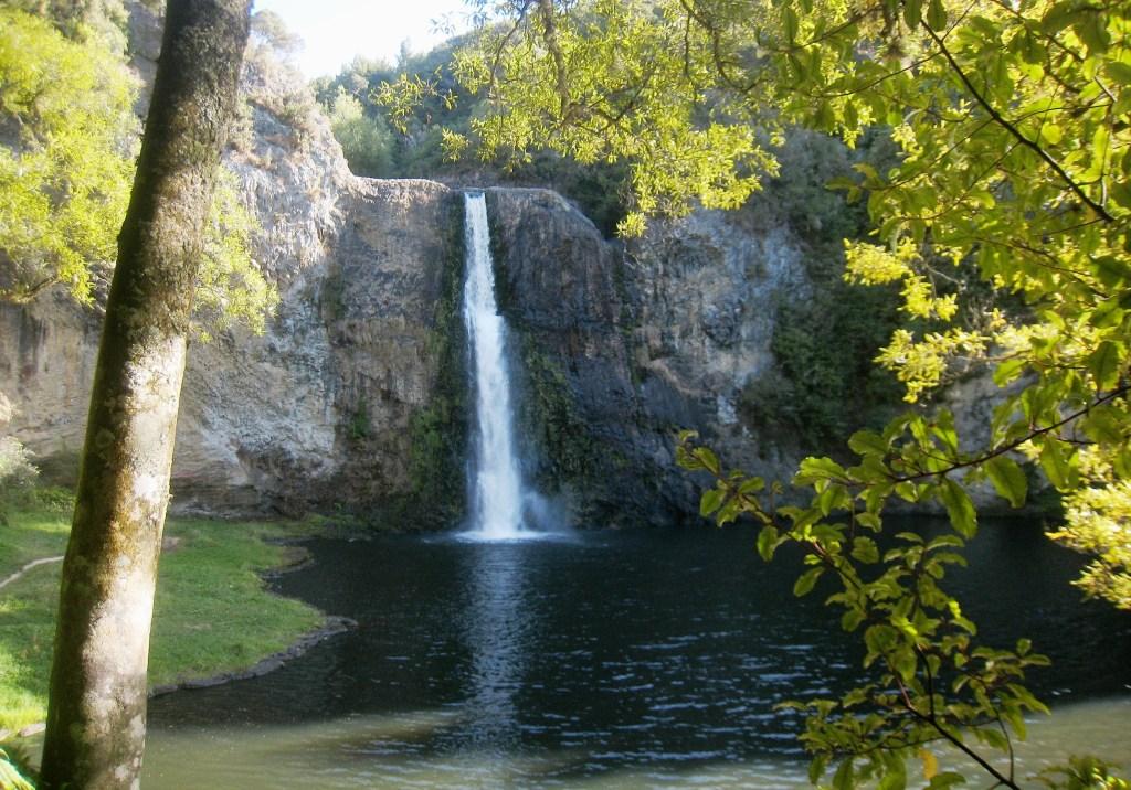 Hunua Falls, on the Wairoa River, near Auckland, New Zealand