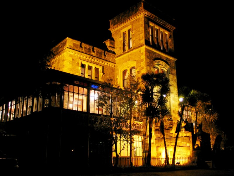 Larnach Castle at Night