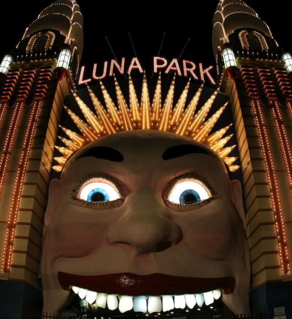 Tragedy at Luna Park, Sydney.