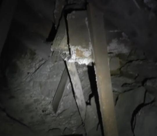 Man records 'ghost' in abandoned mine