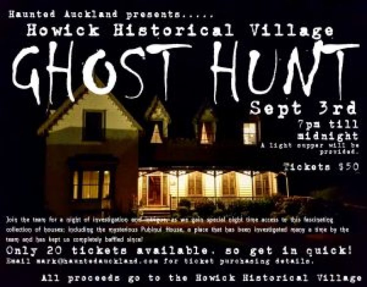 howick village ghost hunt