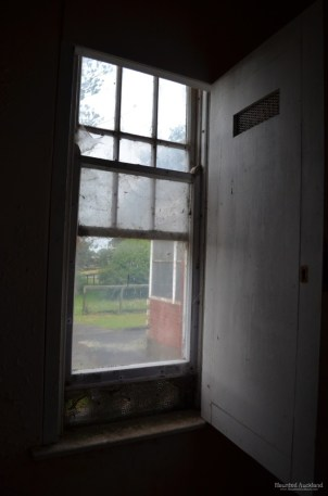 Cell window in Admin Building