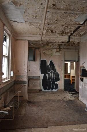 Maximum Security interior, kitchen