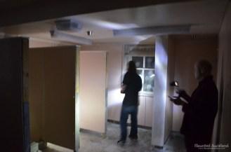 Maximum Security interior, JP and Kris