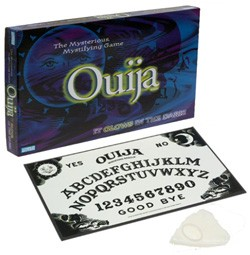 "Ouija Board with ""Spooky"" packaging."