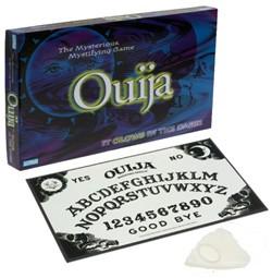 "Ouija Board with ""Spooky"" packaging."