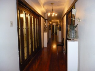 Upstairs corridor, adjacent to the ballroom