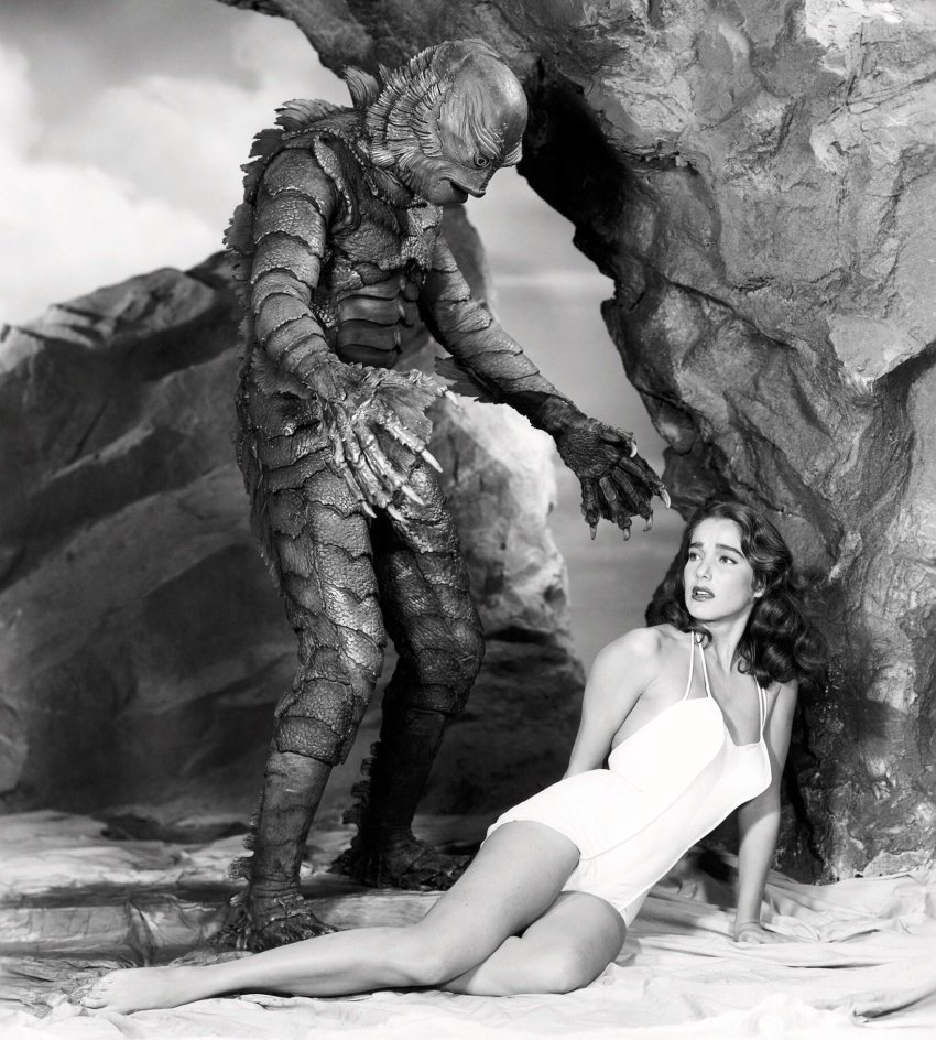 Julie Adams in Creature from the Black Lagoon (195 Publicity Still)