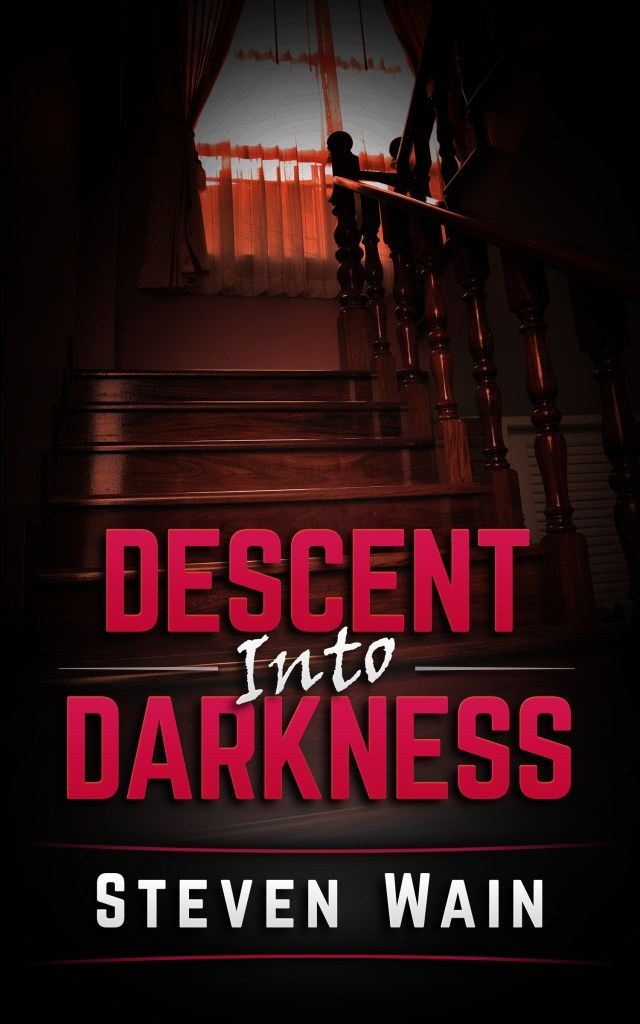 Descent Into Darkness book cover.