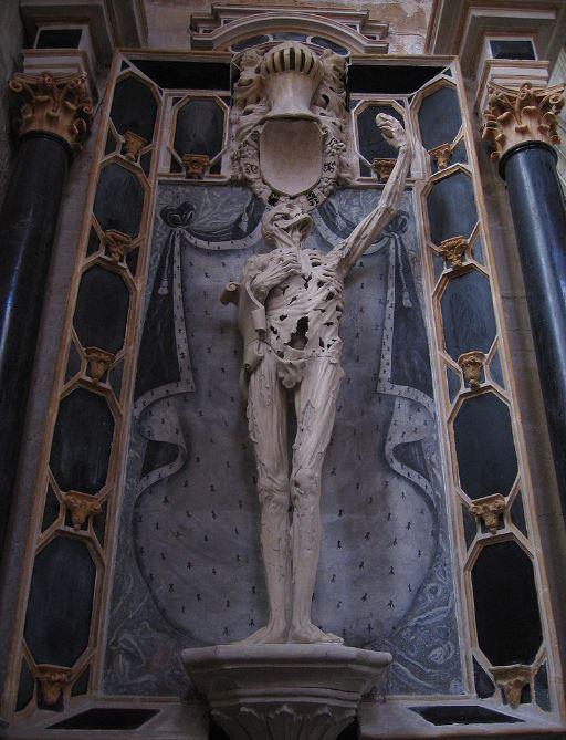 Dead Man Standing. Le Transi de Rene de Chalon
