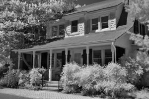 Haunted Snuggery, St. Michaels, Maryland Infrared Photography