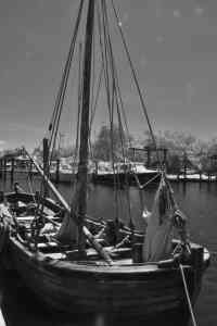 Haunted Harbor St. Michaels, Maryland Infrared Photography
