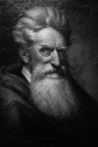 Abolitionist John Brown Portrait