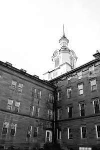 Trans-Allegheny Lunatic Asylum Main Building Side 2 Haunted Photography