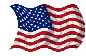 American Flag Waving - image from stock.xchng