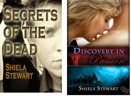 Shiela Stewart Book Covers
