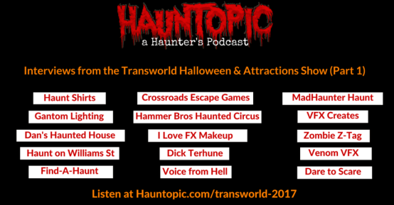 Transworld halloween attractions show-haashow.com