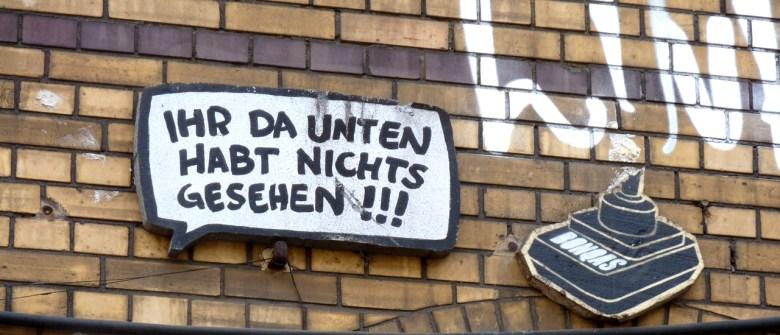 Streetart in Berlin Friedrichshain