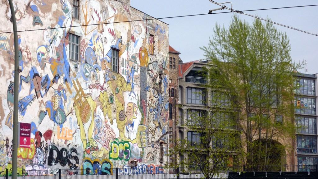 Berlin Mitte - Das ehemalige Tacheles