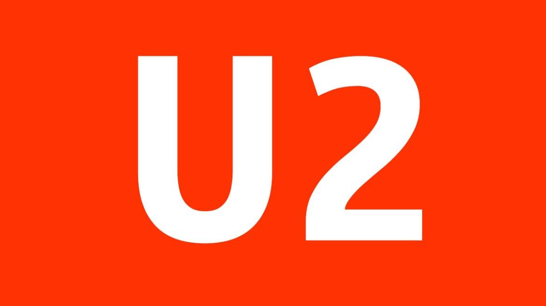 Logo der U2 in Berlin