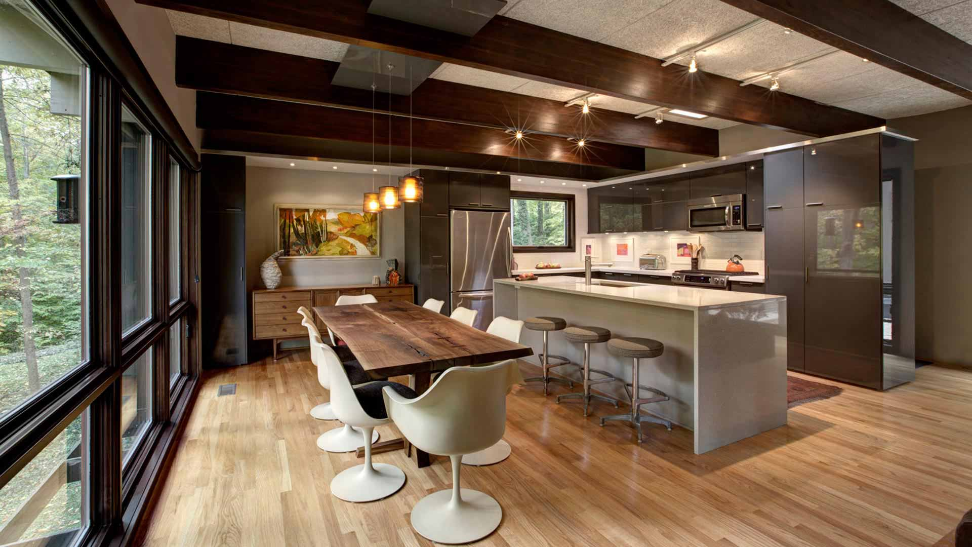 Mid Century Modern Renovation HAUS Architecture