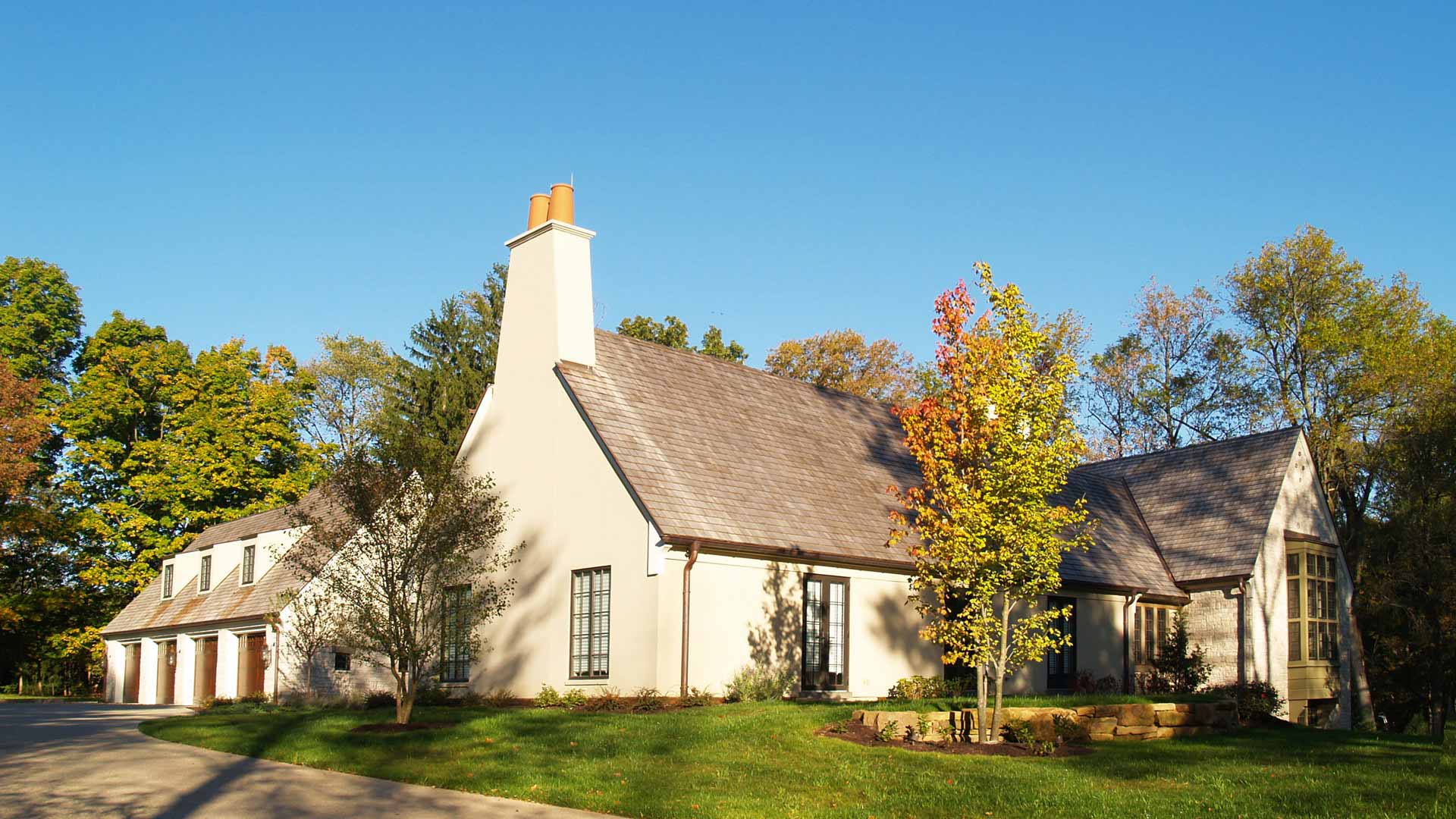 French Country Estate Haus Architecture