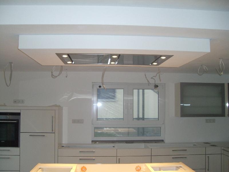Dunstabzugshaube für offene Küche