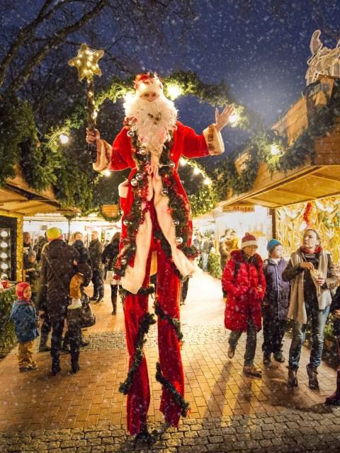 Lichterstadt Eutin- Weihnachtsmann
