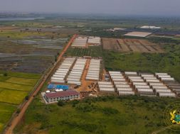 NPP Government commissioned biggest green village estate in Ghana