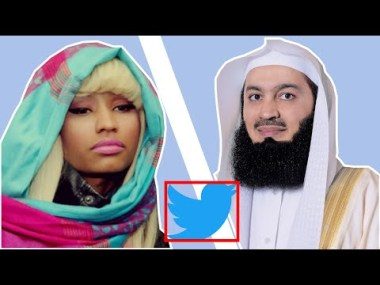 Nicki Minaj Follows Mufti Menk!