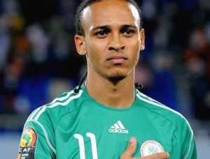 Kanu Nwankwo's Wife in Tango with Osaze Odemwingie 2