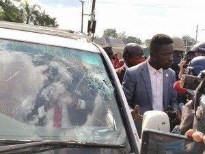 Bobi Wine Our lives are in great danger 6