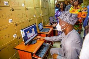 Oyo State, in furtherance of our e-governance plan