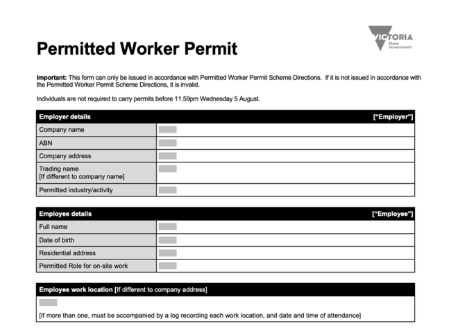 How To Apply For Work Permit Nsw
