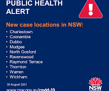 How many cases in NSW Today