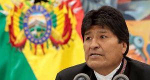 Sabuwar Dokar Zabe A Bolivia Ta Haramta Wa Morales Yin Takara