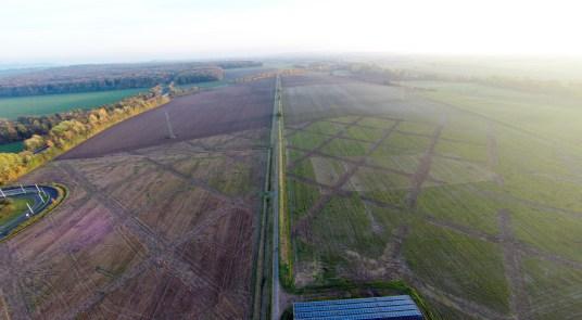 Luftbild Richtung Süden