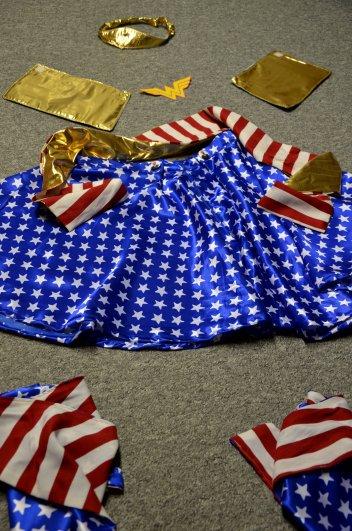 WonderWoman Kostüm DIY