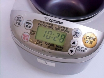 Japanischer Reiskocher ZOJIRUSHI NS-LLH05-XA