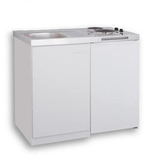 MEBASA MK0001 - Pantryküche mit Kühlschrank