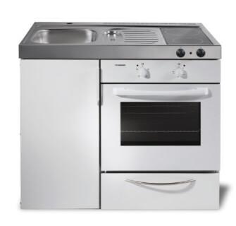 MKB100 Miniküche mit Backofen ohne Kühlschrank