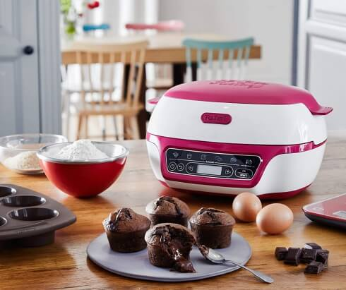 Tefal Cake Factory Kuchenbackautomat KD8018