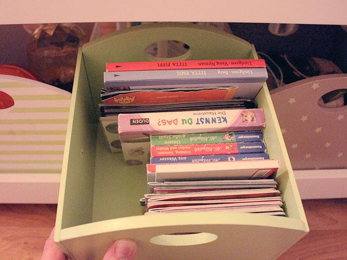 Kleine Bücher auch für die Spiel-Tasche