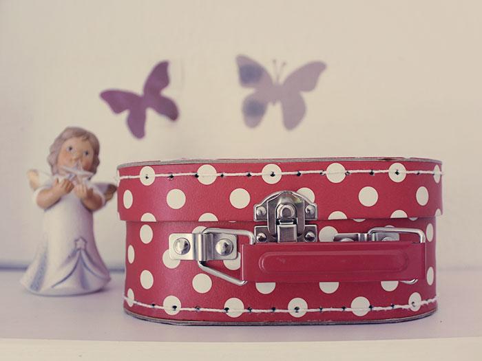 Koffer für Haarspangen und Haargummis