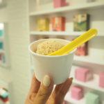 台湾  永康街でアイスクリーム